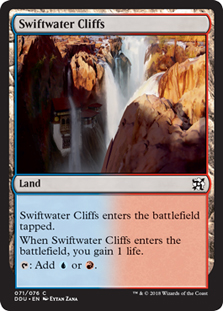 Cordilheiras das Cascatas / Swiftwater Cliffs