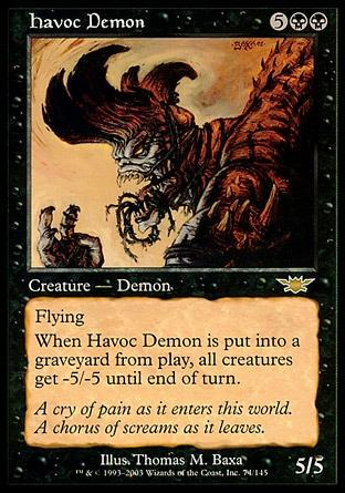 Demônio Fulminante / Havoc Demon