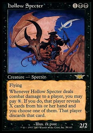 Espectro Ôco / Hollow Specter