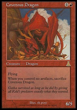 Dragão Ganancioso / Covetous Dragon
