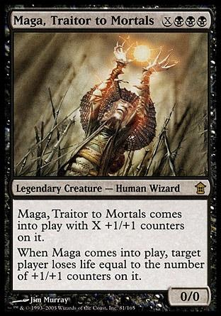 Maga, Traidor para os Mortais / Maga, Traitor to Mortals