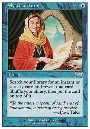 Tutor Místico / Mystical Tutor