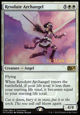 Arcanjo Resoluto / Resolute Archangel