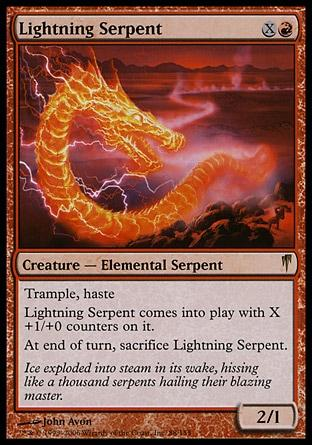Serpente Relampejante / Lightning Serpent