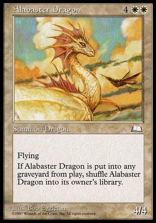Dragão de Alabastro / Alabaster Dragon