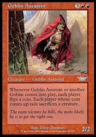 Assassino Goblin / Goblin Assassin