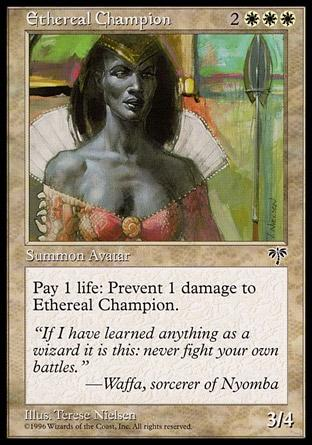 Campeão Etéreo / Ethereal Champion