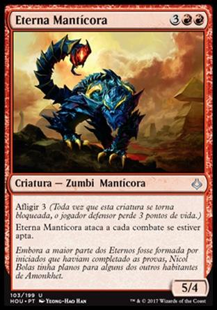 Eterna Mantícora / Manticore Eternal