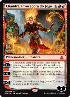 Chandra, Invocadora do Fogo / Chandra, Flamecaller