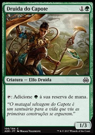 Druida do Capote / Druid of the Cowl