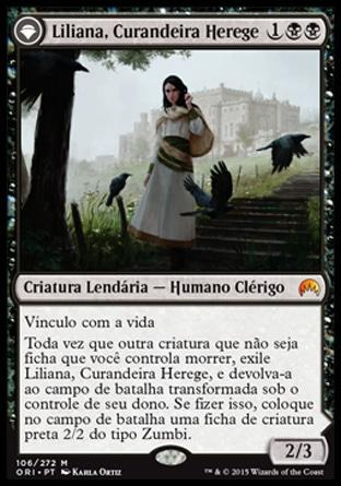Liliana, Curandeira Herege / Liliana, Heretical Healer