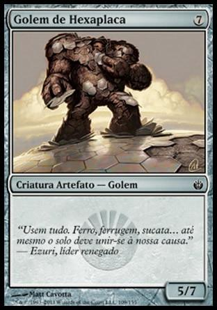 Golem de Hexaplaca / Hexplate Golem