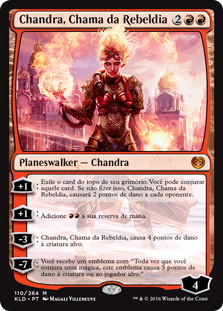 Chandra, Chama da Rebeldia / Chandra, Torch of Defiance