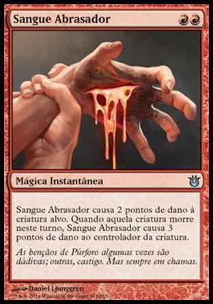 Sangue Abrasador / Searing Blood
