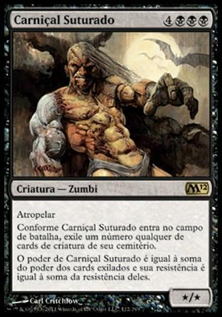 Carniçal Suturado / Sutured Ghoul