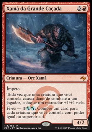 Xamã da Grande Caçada / Shaman of the Great Hunt