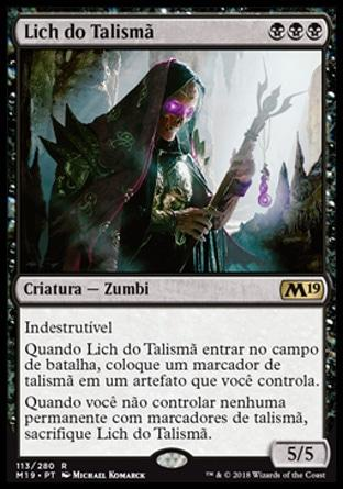 Lich do Talismã / Phylactery Lich