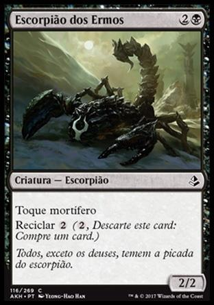 Escorpião dos Ermos / Wasteland Scorpion