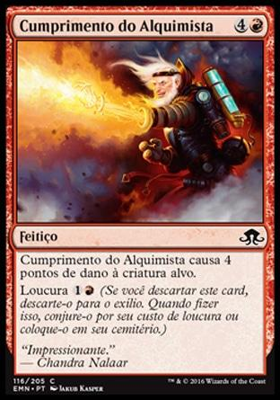 Cumprimento do Alquimista / Alchemist's Greeting