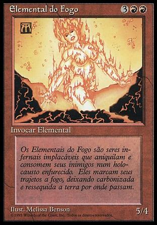 Elemental do Fogo / Fire Elemental