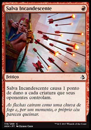 Salva Incandescente / Blazing Volley