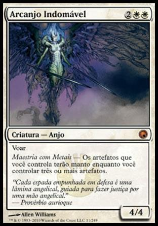 Arcanjo Indomável / Indomitable Archangel
