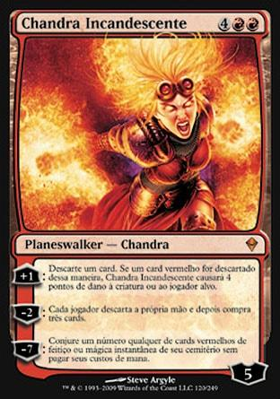 Chandra Incandescente / Chandra Ablaze