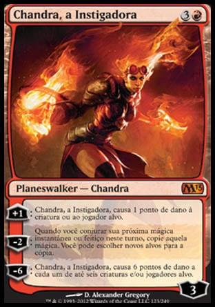 Chandra, a Instigadora / Chandra, the Firebrand