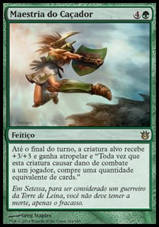 Maestria do Caçador / Hunter's Prowess