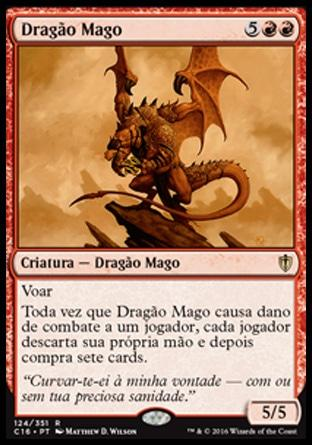Dragão Mago / Dragon Mage