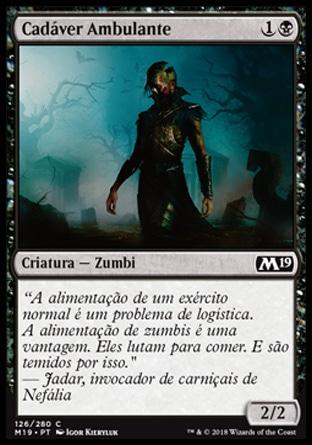 Cadáver Ambulante / Walking Corpse