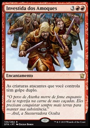 Investida dos Amoques / Berserkers' Onslaught