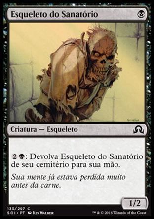 Esqueleto do Sanatório / Sanitarium Skeleton