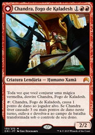 Chandra, Fogo de Kaladesh / Chandra, Fire of Kaladesh