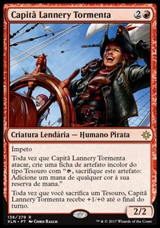 Capitã Lannery Tormenta / Captain Lannery Storm