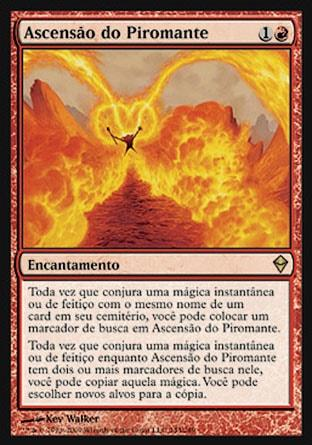 Ascensão do Piromante / Pyromancer Ascension