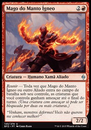 Mago do Manto �gneo / Firemantle Mage