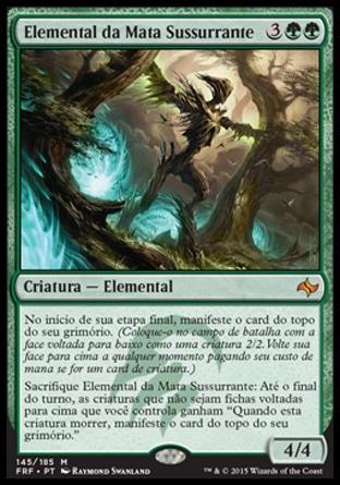 Elemental da Mata Sussurrante / Whisperwood Elemental