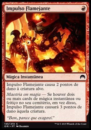 Impulso Flamejante / Fiery Impulse