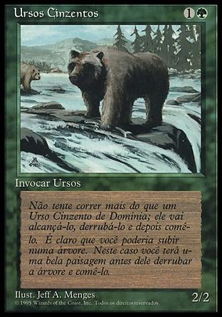 Ursos Cinzentos / Grizzly Bears