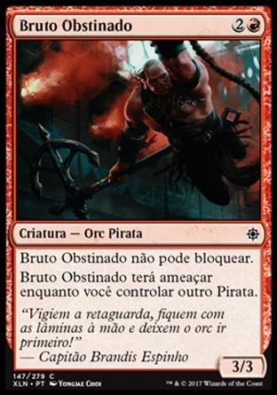 Bruto Obstinado / Headstrong Brute