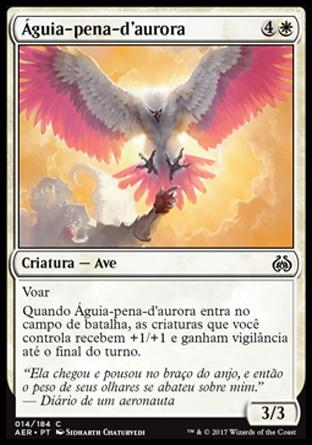 Águia-pena-d'aurora / Dawnfeather Eagle