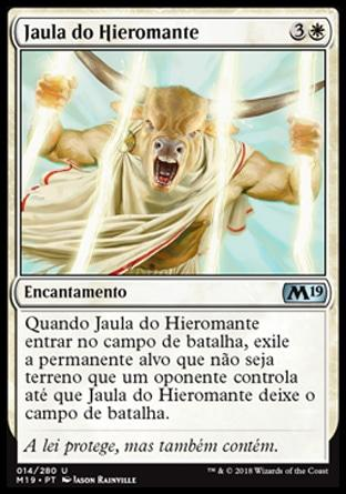 Jaula do Hieromante / Hieromancer's Cage