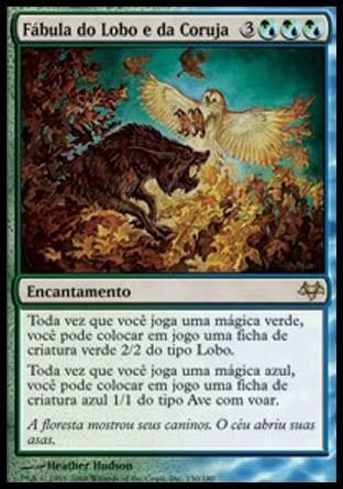Fábula do Lobo e da Coruja / Fable of Wolf and Owl