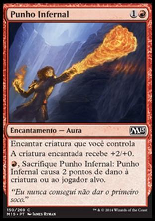 Punho Infernal / Inferno Fist