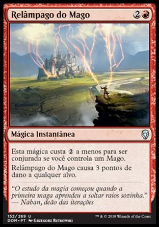Relâmpago do Mago / Wizard's Lightning