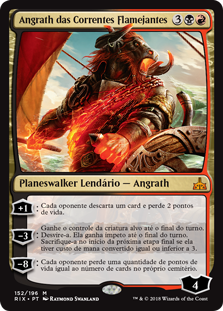 Angrath das Correntes Flamejantes / Angrath, the Flame-Chained
