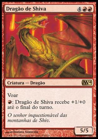 Dragão de Shiva / Shivan Dragon
