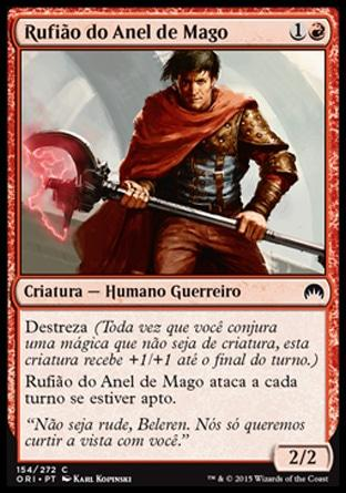 Rufião do Anel de Mago / Mage-Ring Bully