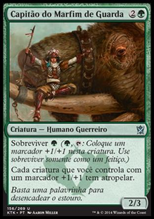 Capitão do Marfim de Guarda / Tuskguard Captain